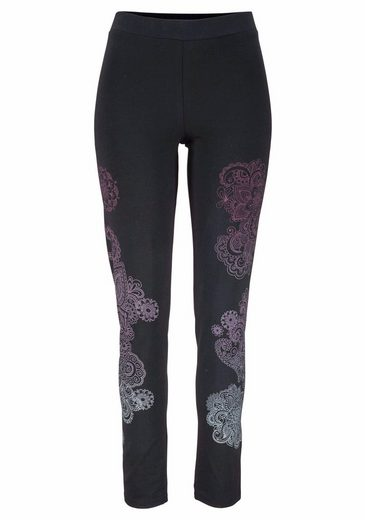 Pants Casual Mit Paisley print Schwarz Kangaroos oQrdBWExCe
