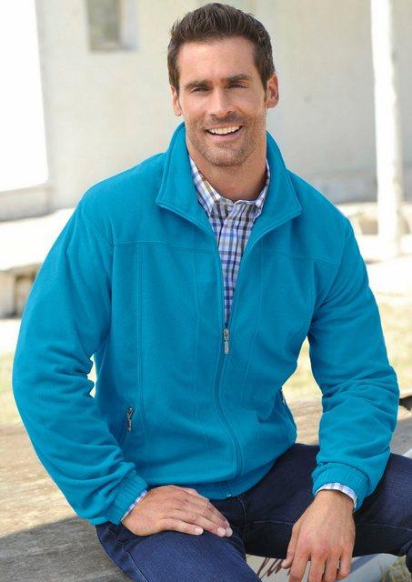 hajo -  Fleece-Jacke in Stay fresh Qualität