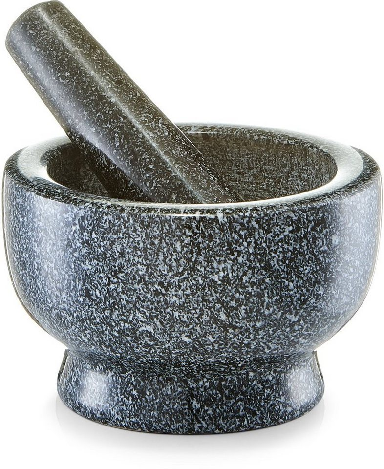 zeller present m rser st el set granit in zwei gr en lieferbar online kaufen otto. Black Bedroom Furniture Sets. Home Design Ideas