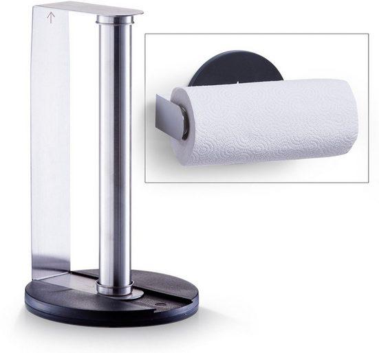 Zeller Present Küchenrollenhalter, Edelstahl/Kunststoff-Kombination
