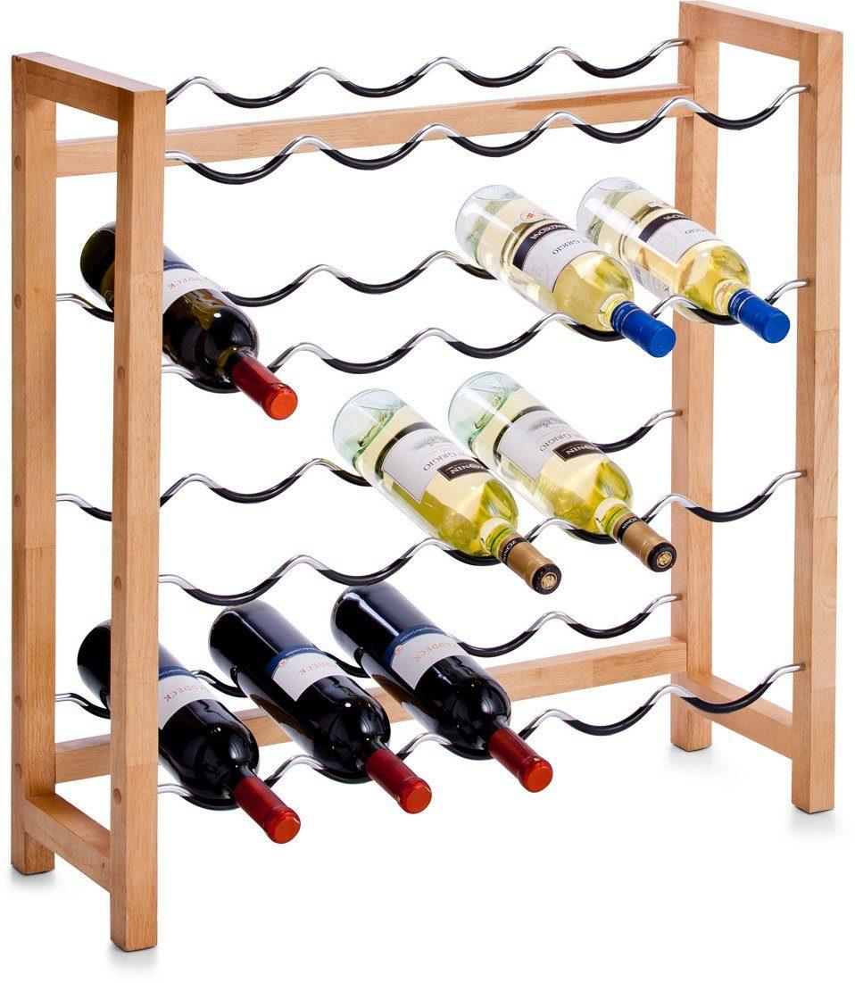 Zeller Present Weinregal für 20 Flaschen, 70 x 23 x 71 cm