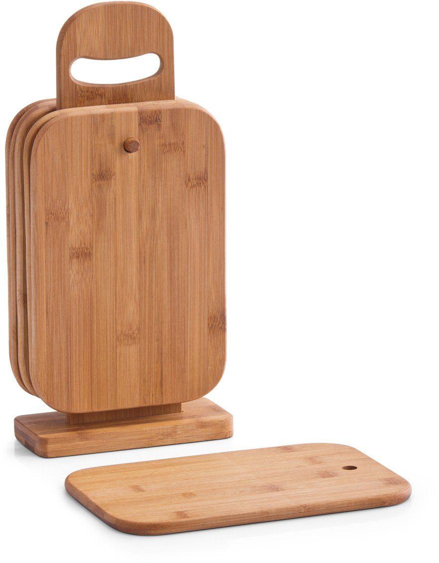 Zeller Present Brettchenständer, 15 x 7 x 32 cm, »Bamboo« (7tlg.)
