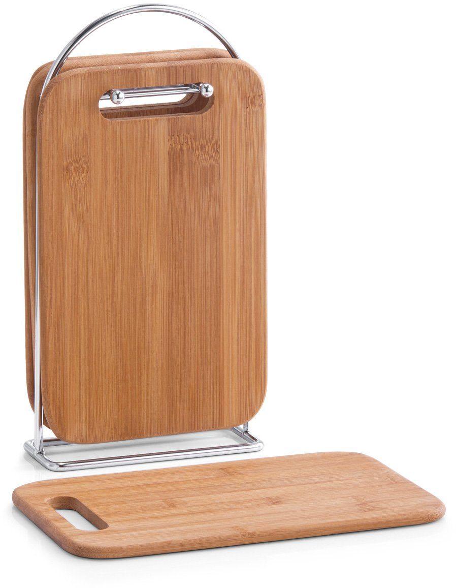 Zeller Present Brettchenständer, 6,5 x 15 x 30 cm, »Bamboo« (5tlg.)