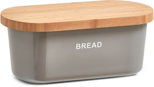 Zeller Present Brotkasten  Melamin  Bambus  (1-tlg)  Maße (L/B/H): 36 x 20 x 14 5 cm   Küche und Esszimmer > Aufbewahrung > Brotkasten   Zeller Present