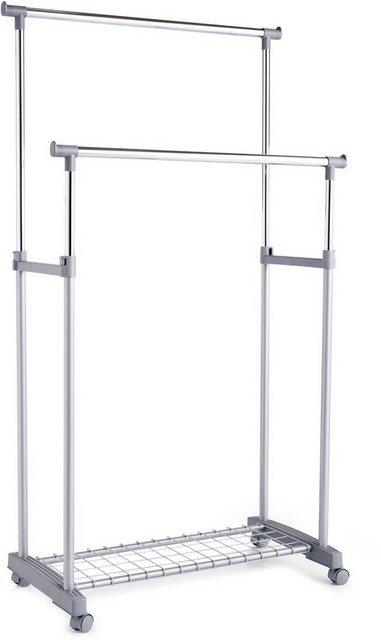 Kleiderständer und Garderobenständer - Zeller Present Kleiderständer, auf Rollen, höhenverstellbar 93,5 170 cm  - Onlineshop OTTO