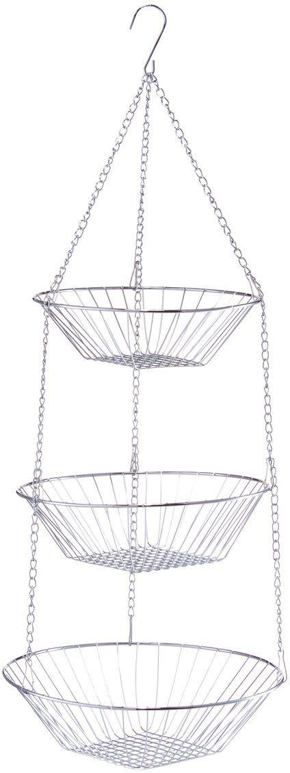 Zeller Present Hängekorb, 3-fach, Ø 25,5 x 72 cm