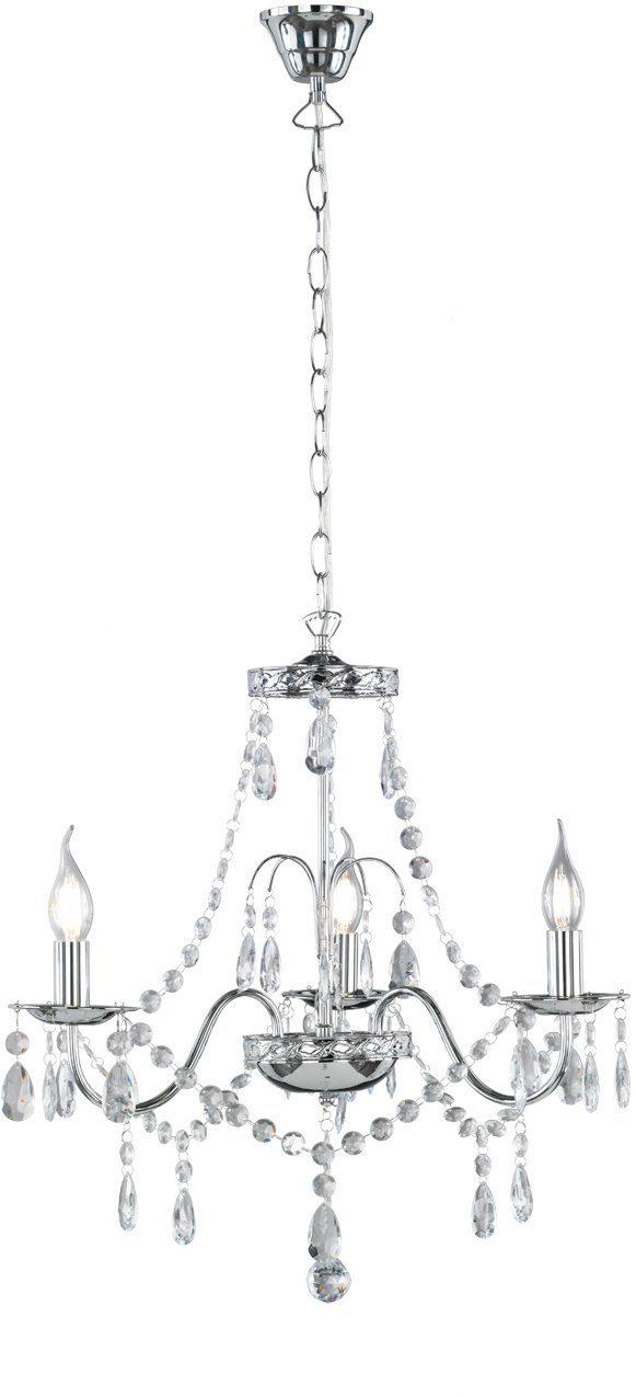 TRIO Leuchten Kronleuchter »BAROQUE«, 3-flammig