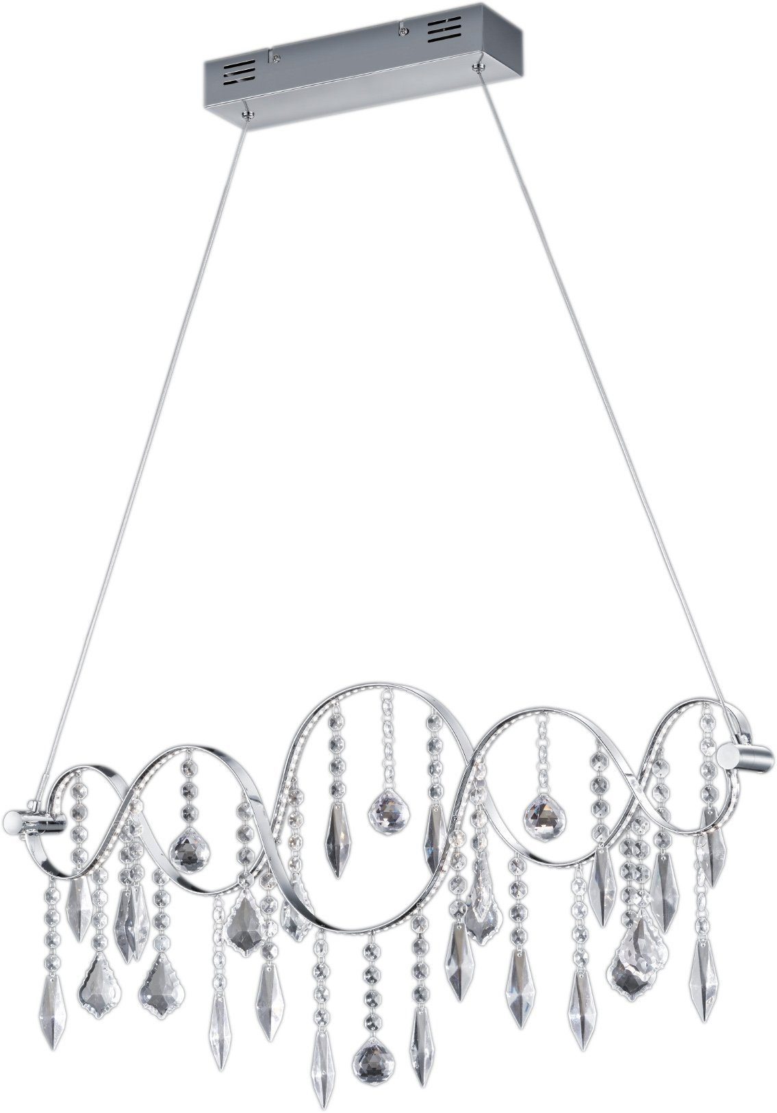 TRIO Leuchten LED Pendelleuchte »GARRET«, 1-flammig