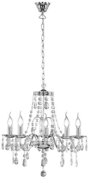 TRIO Leuchten Kronleuchter »BAROQUE«, 5-flammig