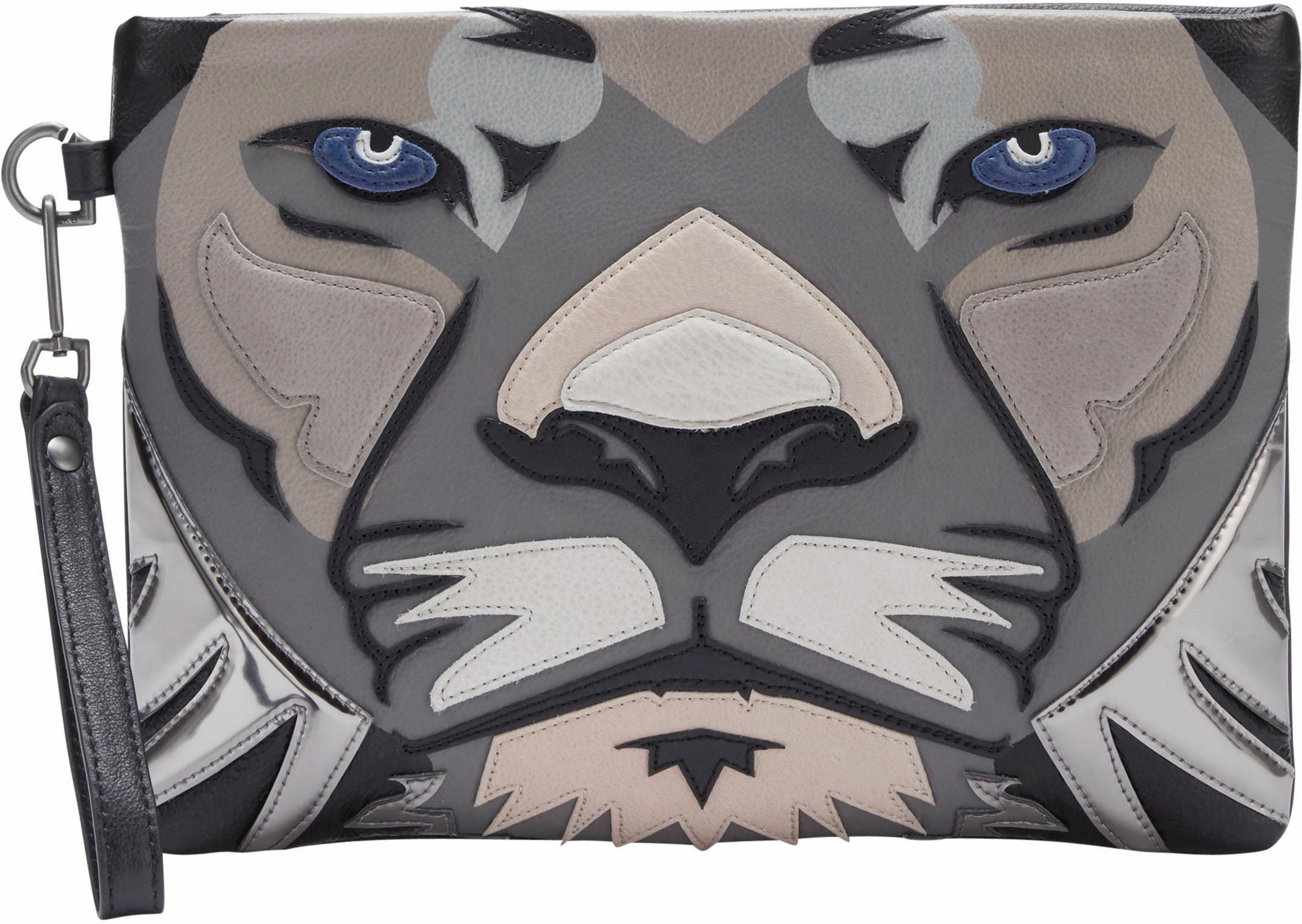 Liebeskind Clutch »Makamba«, im Löwen Design