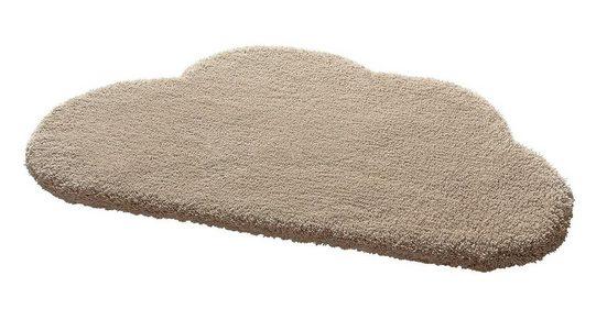 Kinderteppich »Wunderwolke«, Bellybutton, wolkenförmig, Höhe 30 mm, reine Schurwolle