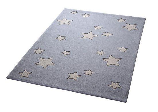 Kinderteppich »Sternenzelt«, Bellybutton, rechteckig, Höhe 10 mm, reine Schurwolle