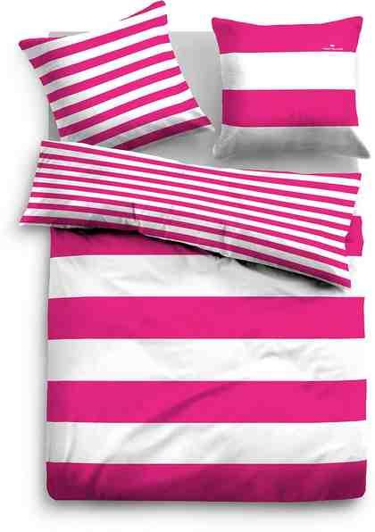 Wendebettwäsche, Tom Tailor, »Siena«, im Streifen Design