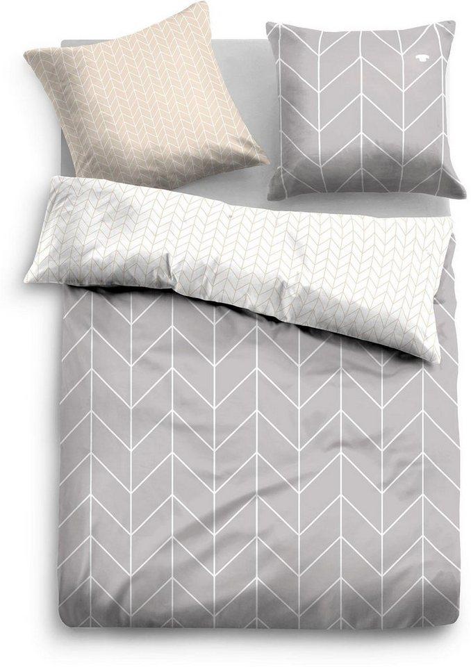 wendebettw sche tom tailor miley mit dynamischen muster online kaufen otto. Black Bedroom Furniture Sets. Home Design Ideas