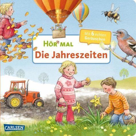 Buch mit Papp-Einband »Die Jahreszeiten / Hör mal Bd.21«