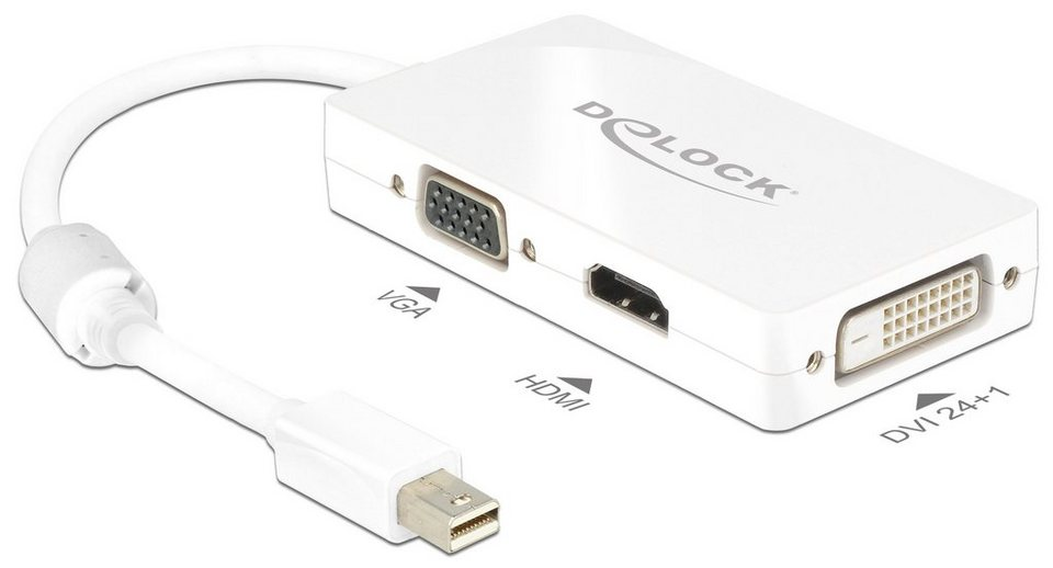 DELOCK mini Displayport Adapter »1.1 Stecker auf VGA