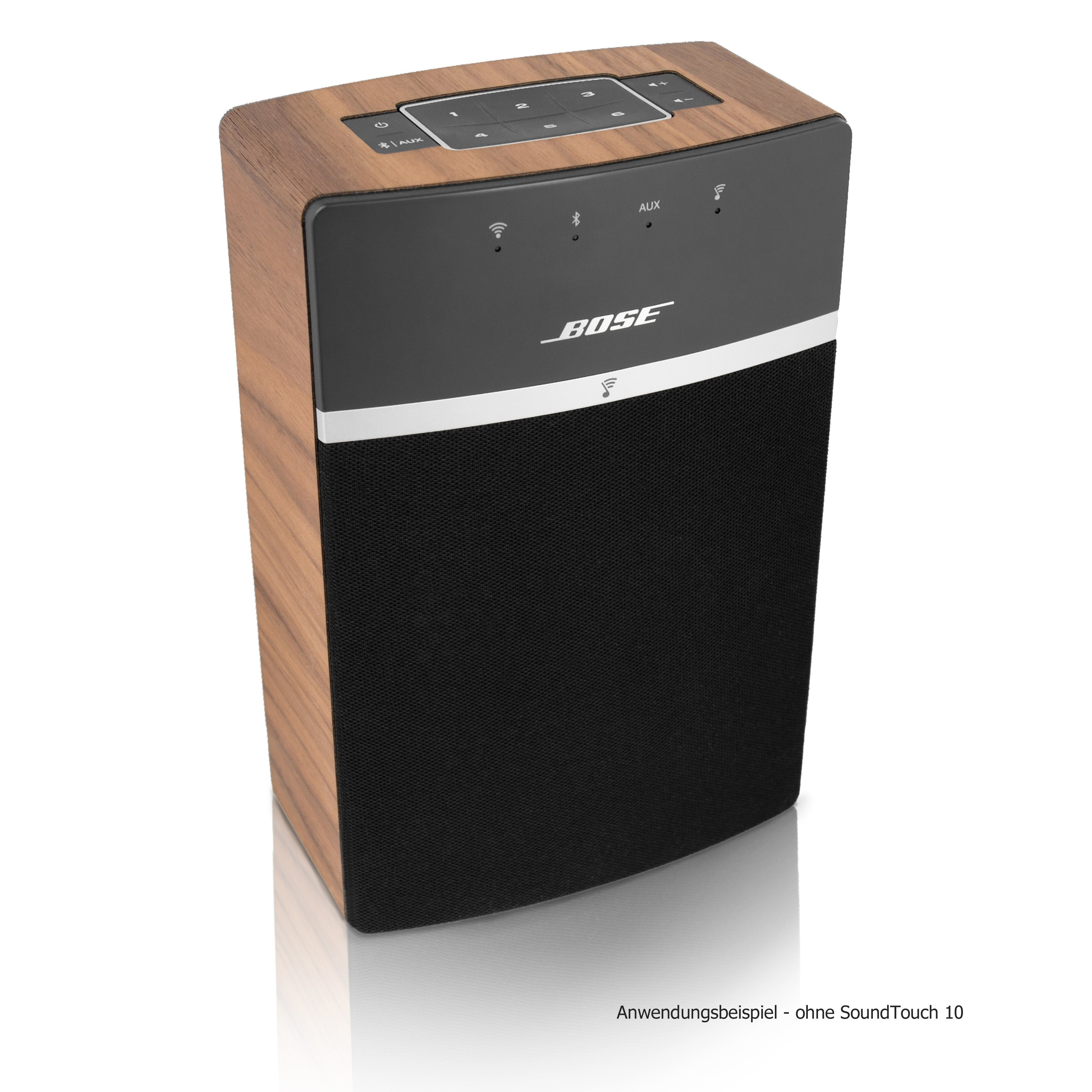 Cover Für Das Bose Sound Touch 10 »Walnuss Echtholz Cover«