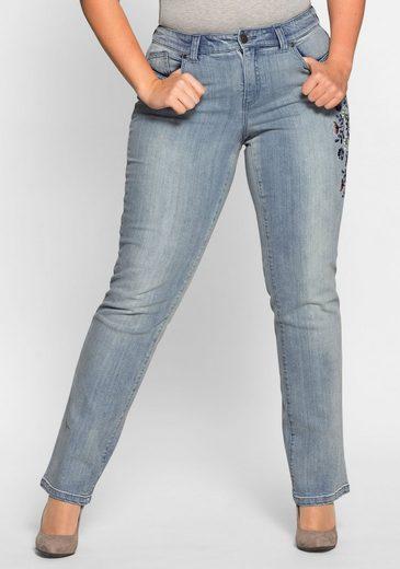 sheego Denim Gerade Jeans