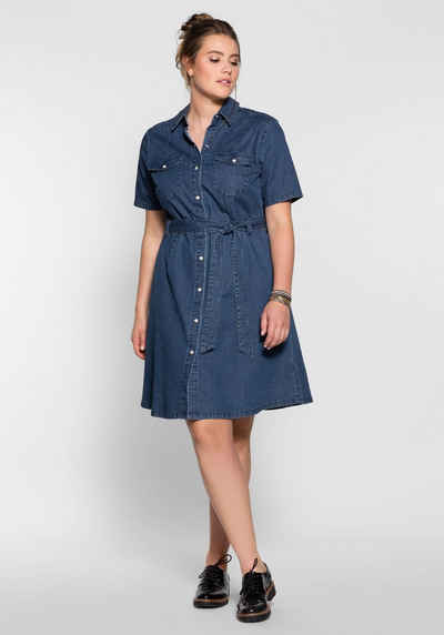 Платье-мини Sheego