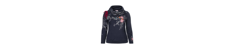 Joe Browns Sweatshirt, Stickerei und Druck auf dem Vorderteil, Ärmeln und Kragen