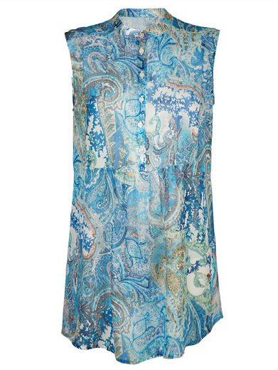 Alba Moda Tunika En Sommerlichem Paisleyprint