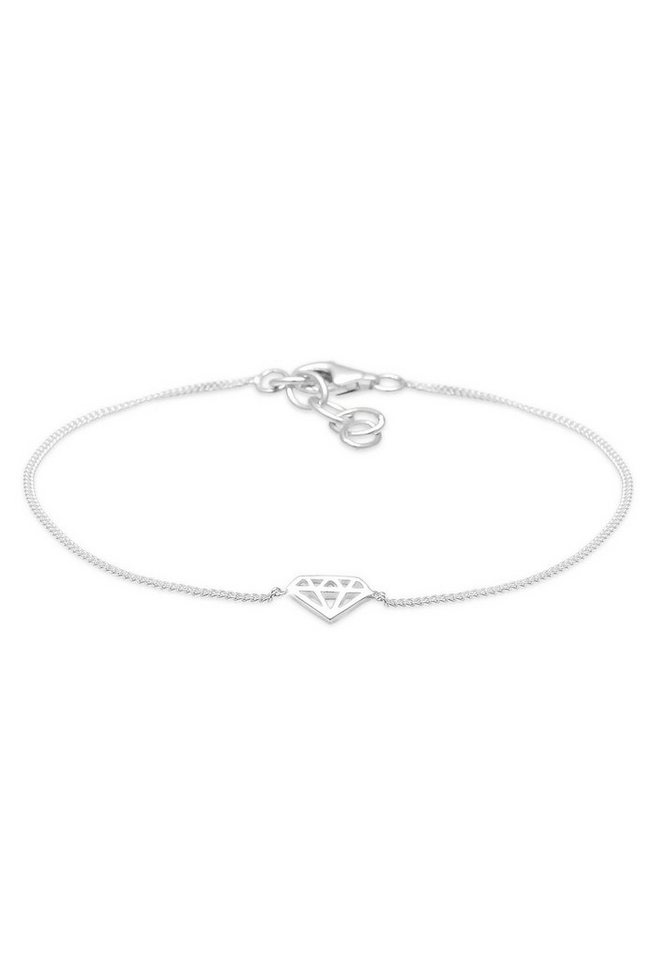 Elli Armband »Diamant 925 Sterling Silber« in Silber