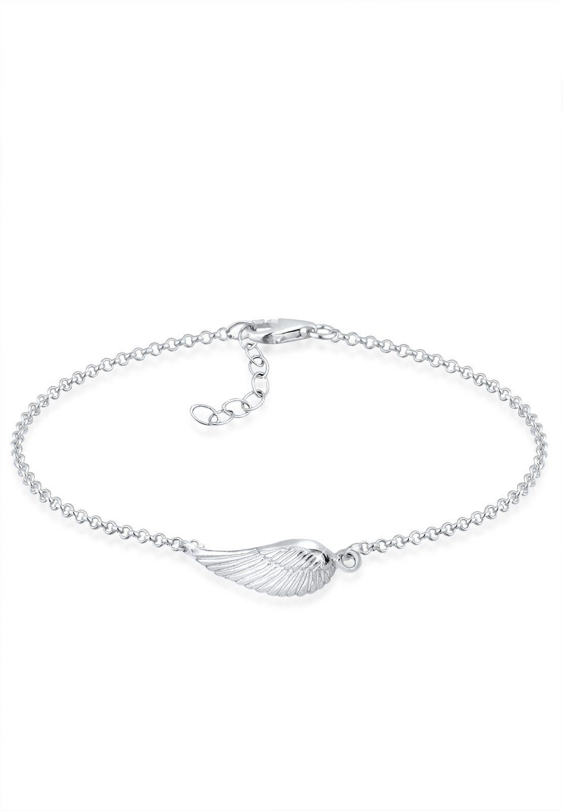 Elli Armband »Flügel 925 Sterling Silber«