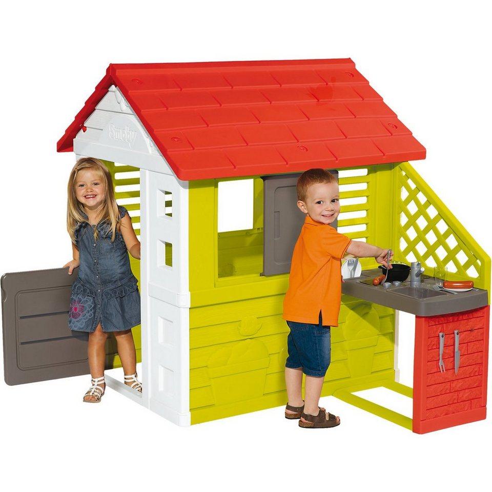 smoby natur haus mit sommerk che online kaufen otto. Black Bedroom Furniture Sets. Home Design Ideas
