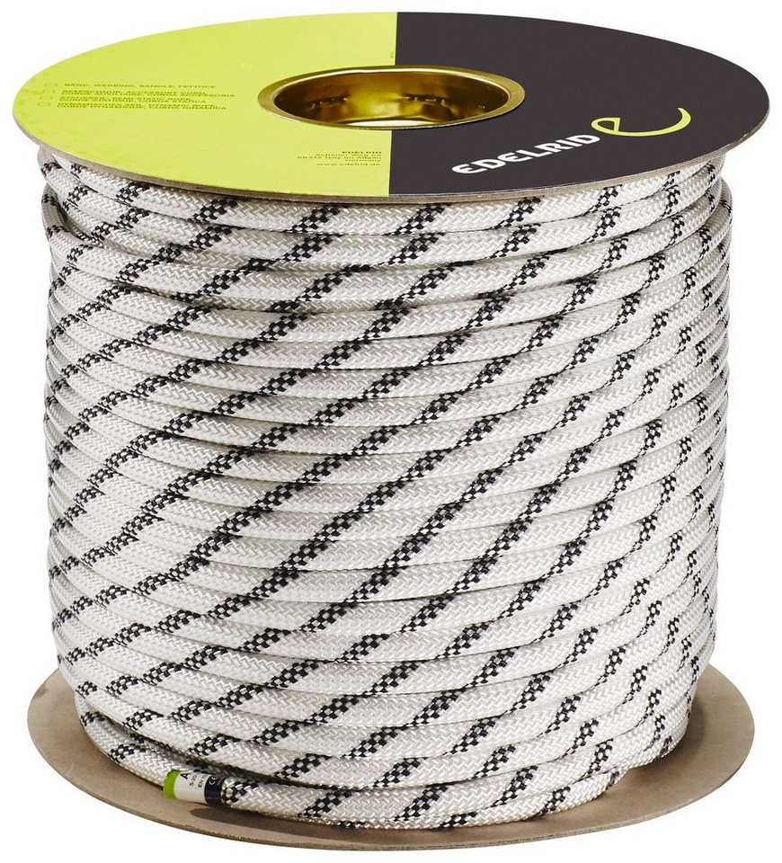 Edelrid Kletterseil »Performance Static Rope 10,5mm 100m« in weiß