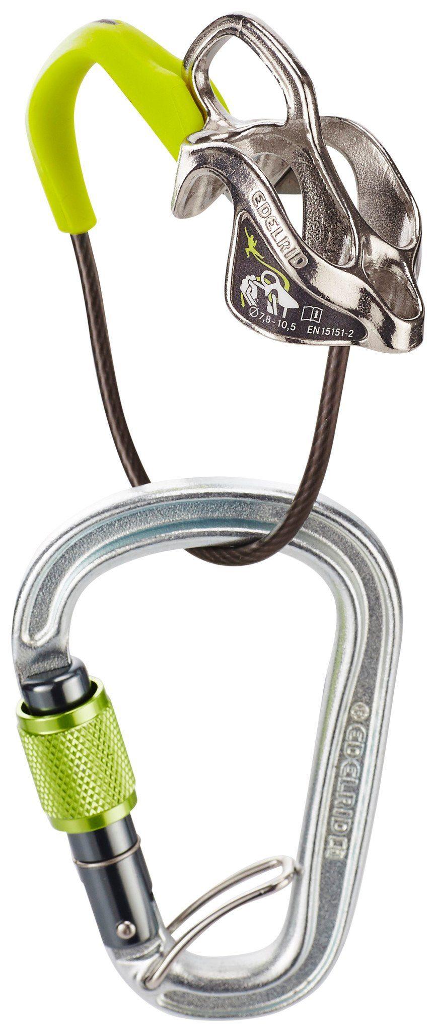 Edelrid Abseilachter »Mega Jul Steel Belay Kit«