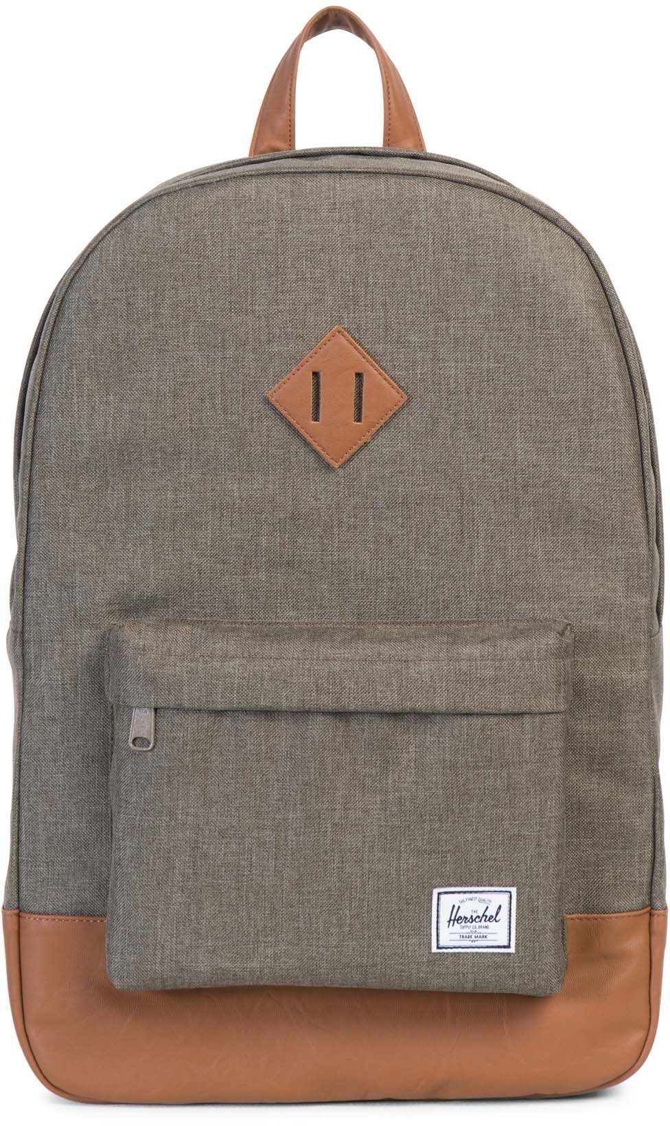 Herschel Rucksack mit Laptopfach, »Heritage Backpack, Canteen Crosshatch«
