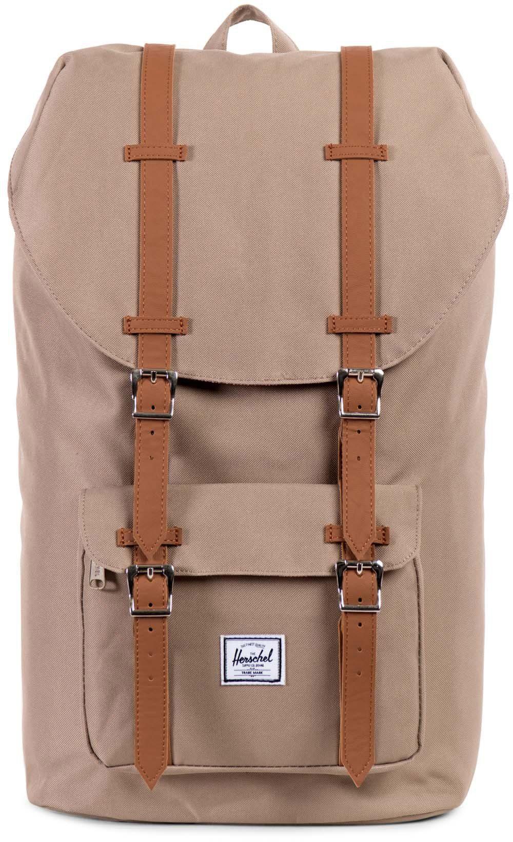 Herschel Rucksack mit Laptopfach, »Little America Backpack, Brindle«