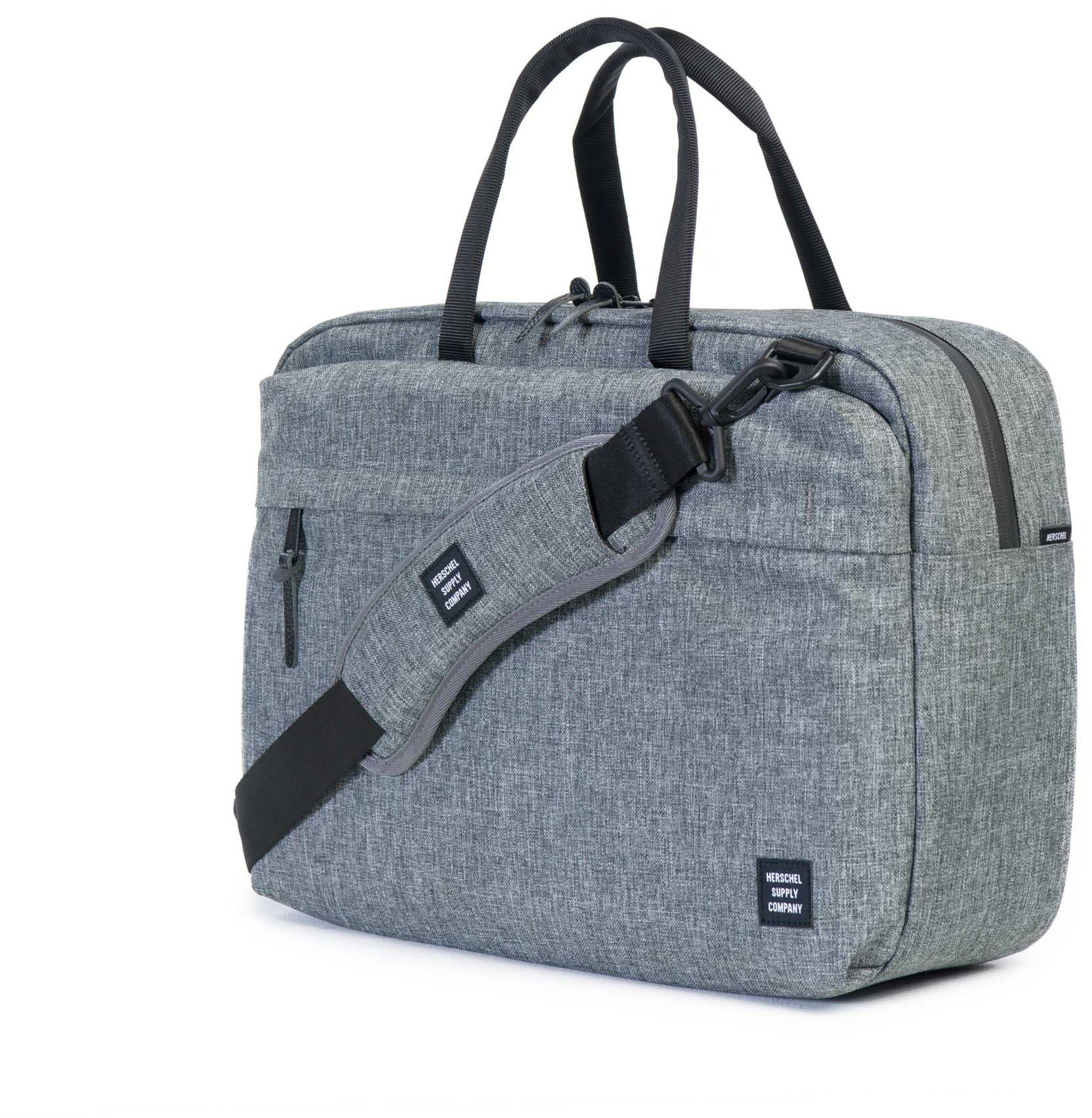 Herschel Messenger Bag mit Laptopfach, »Sandford, Raven Crosshatch«