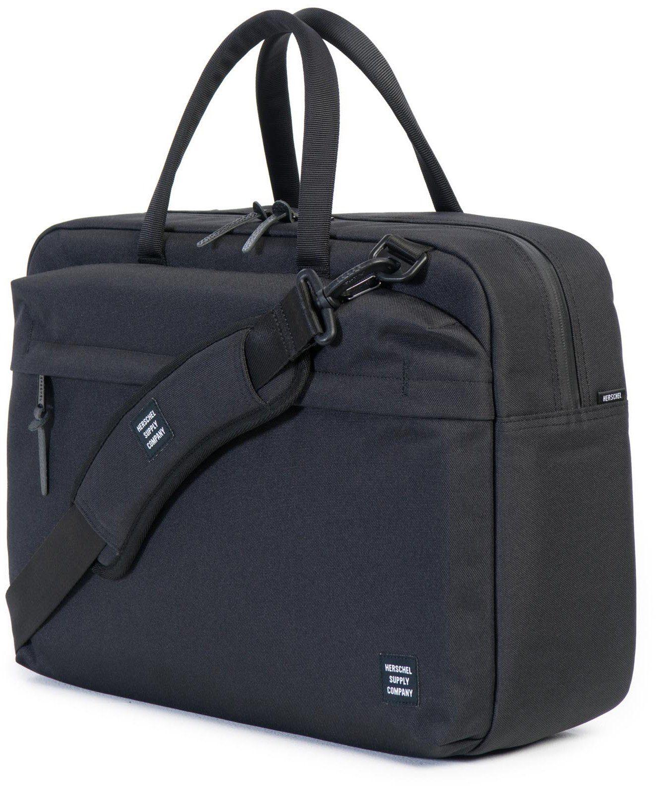 Herschel Messenger Bag mit Laptopfach, »Sandford, Black«