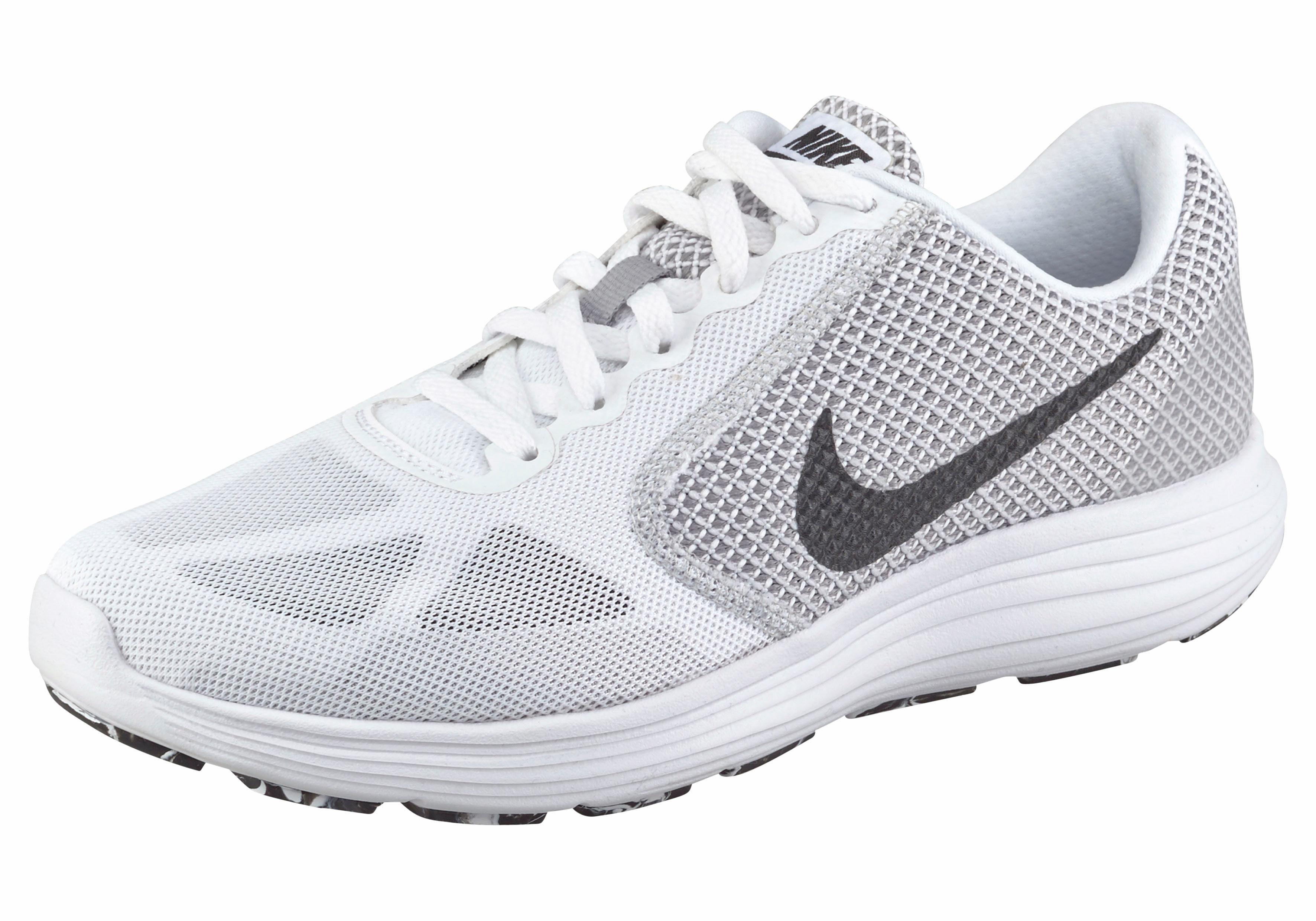 Nike »Revolution 3 Wmns« Laufschuh, schwarz, schwarz-weiß