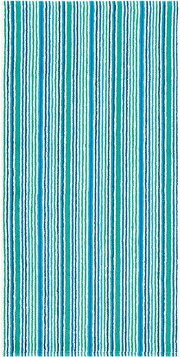 Badetuch »Combi Stripes«, Egeria, mit feinen Streifen