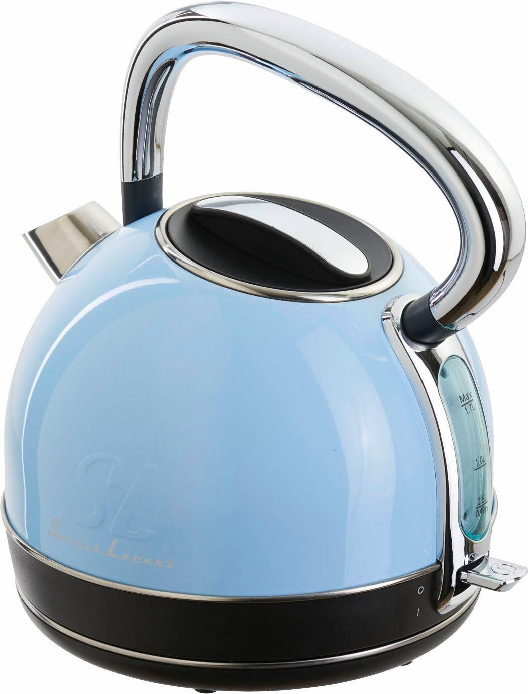 Schaub Lorenz Wasserkocher W1 SLB, 1,7 Liter, 1850-2200 Watt, blau