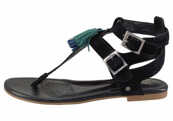 Ugg Lecia Sandal, Avec Des Glands Colorés Dans Un Look Hippie