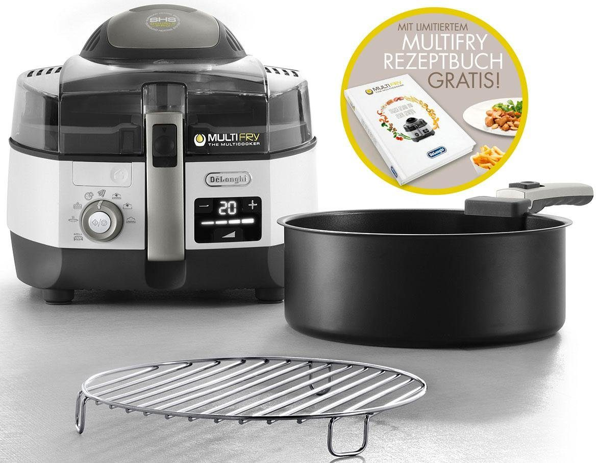 De'Longhi Heissluftfritteuse MultiFry EXTRA CHEF FH1396/1 PLUS, 2400 W