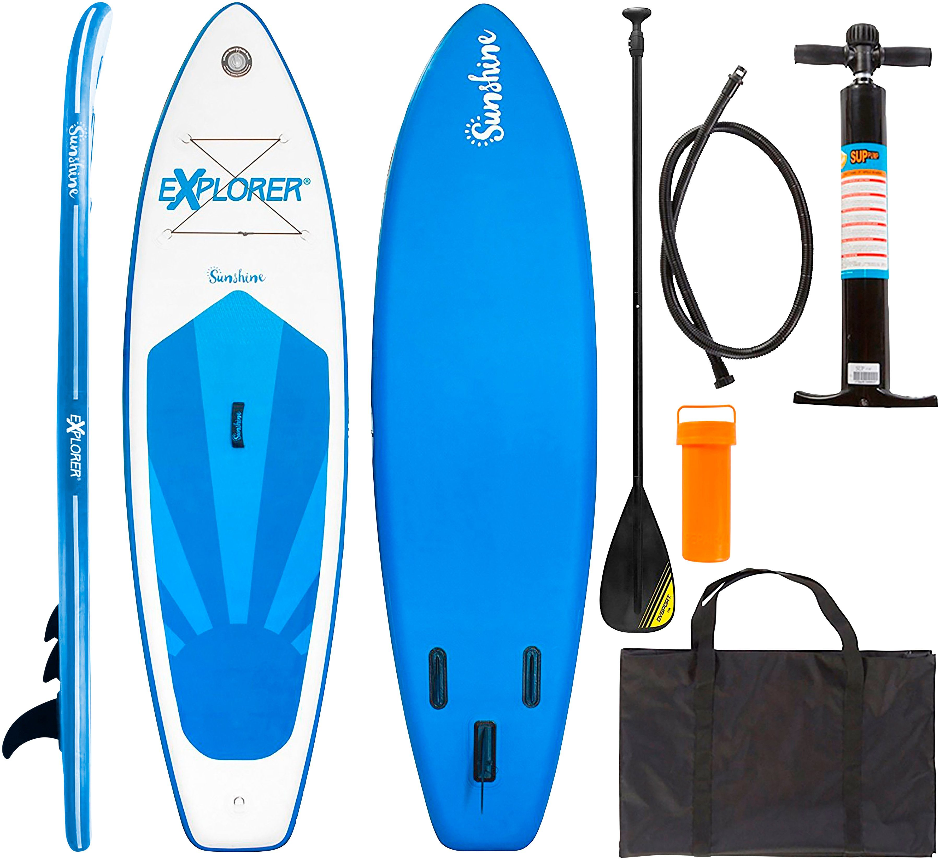 EXPLORER Stand Up Paddle SUP-Board »Sunshine«, BxL: 81 x 305 cm