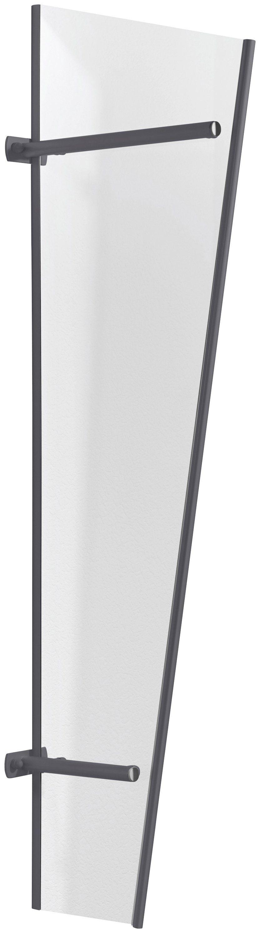 GUTTA Seitenblende »PT/GR Acryl«, BxH: 60x185 cm, anthrazit-transparent