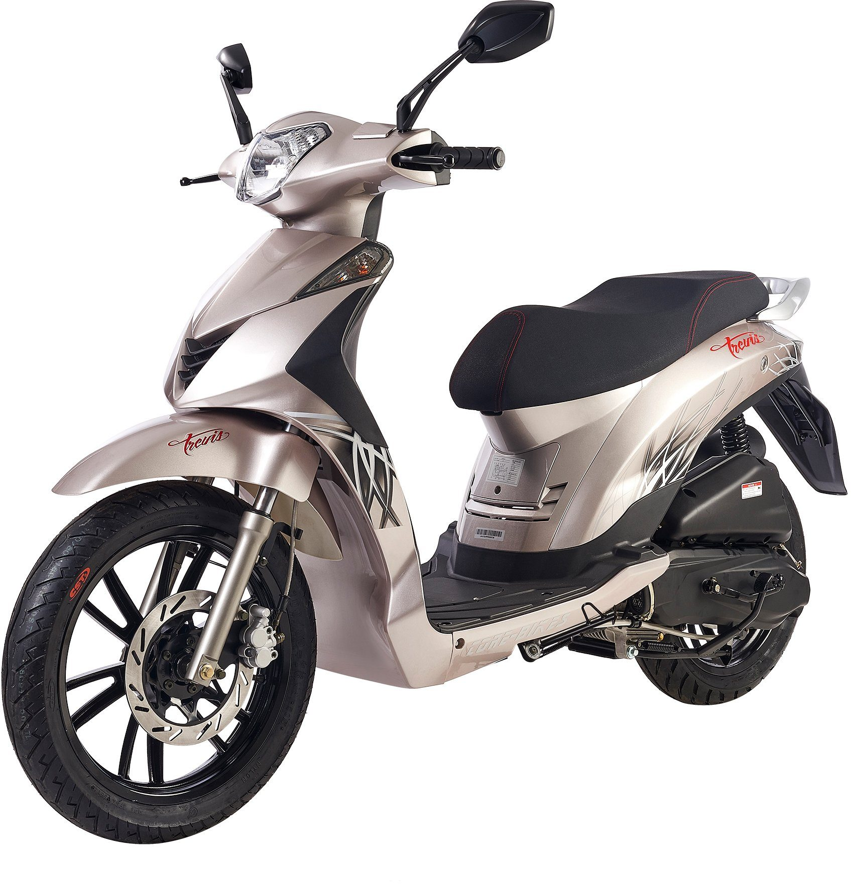 Luxxon Motorroller »Core-Bikes Trevis«, 50 ccm, 45 km/h, Euro 2, 50 ccm, 45 km/h