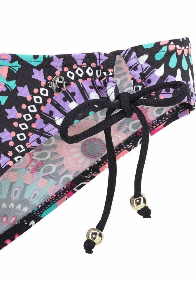 - Damen s.Oliver RED LABEL Beachwear Triangel-Bikini mit goldenen Zierperlen blau, bunt, mehrfarbig   04893865718007