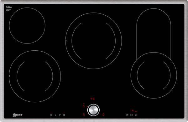 Neff Autarkes Glaskeramik-Kochfeld mit TwistPad® Flat Bedienung TBT 1816 N / T18BT16N0
