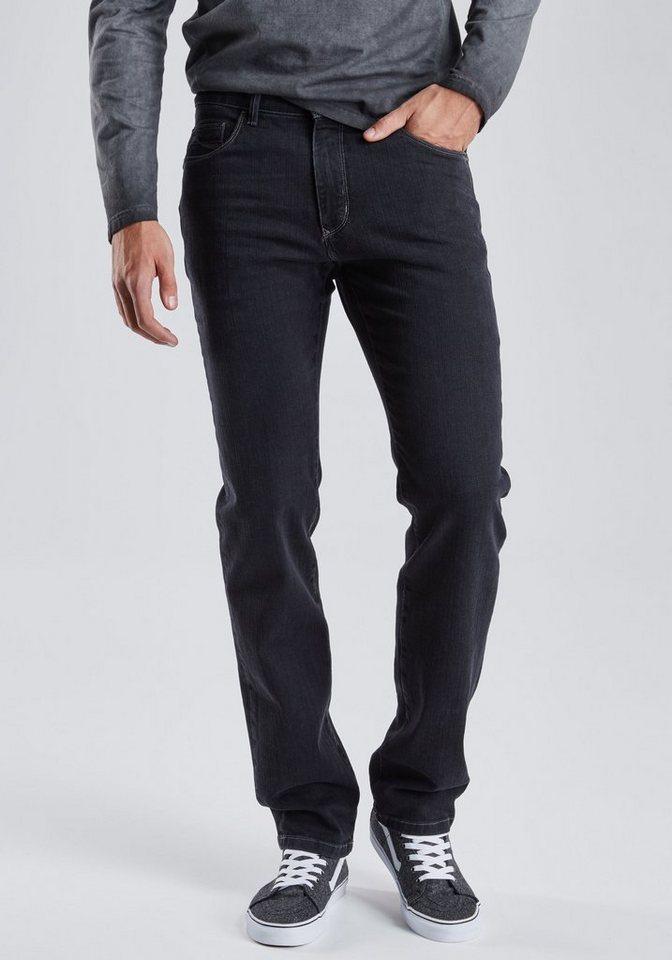 PIONEER Handcrafted Jeans »RANDO« in black denim