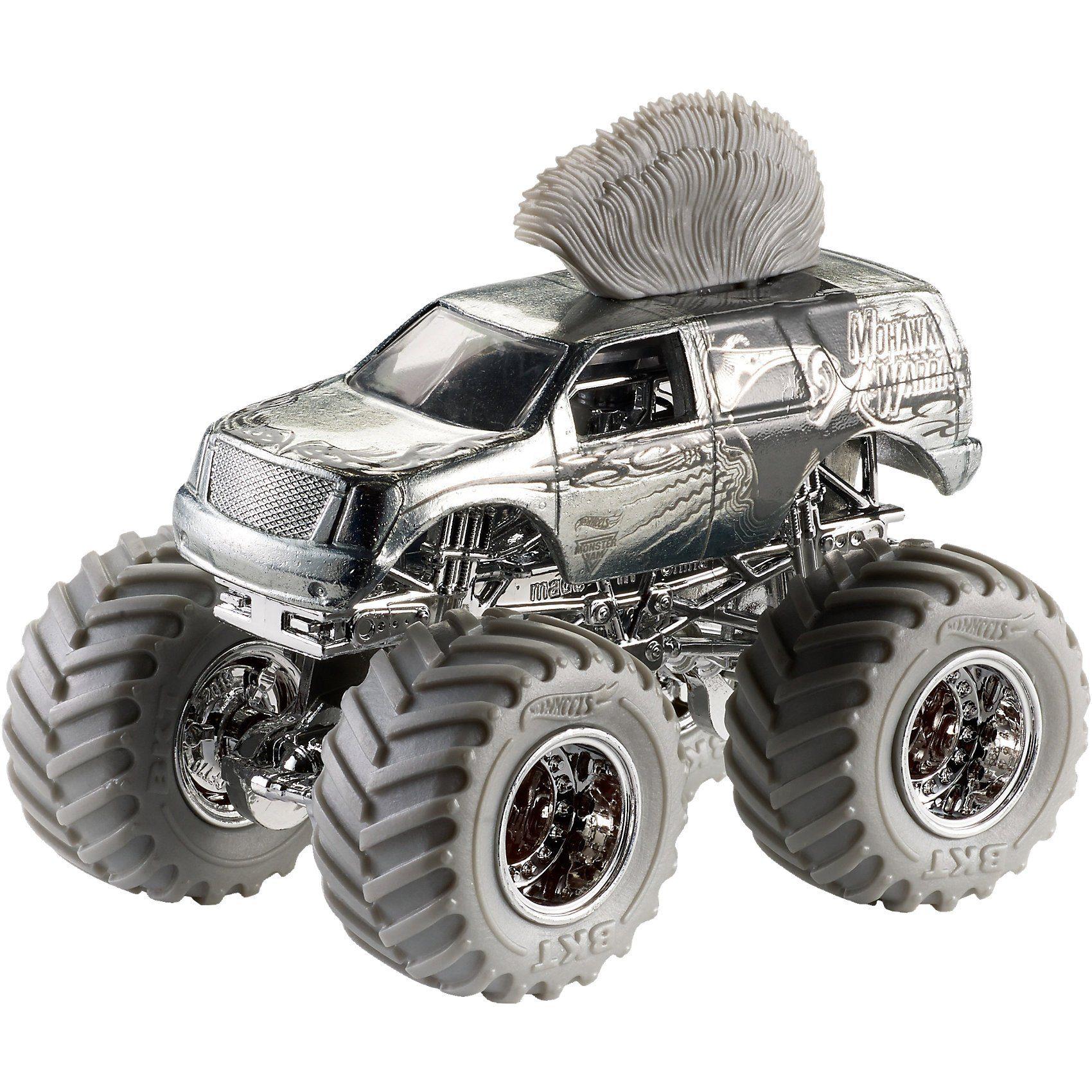 Mattel® Hot Wheels Monster Jam Anniversary Silver Sortiment (rollier