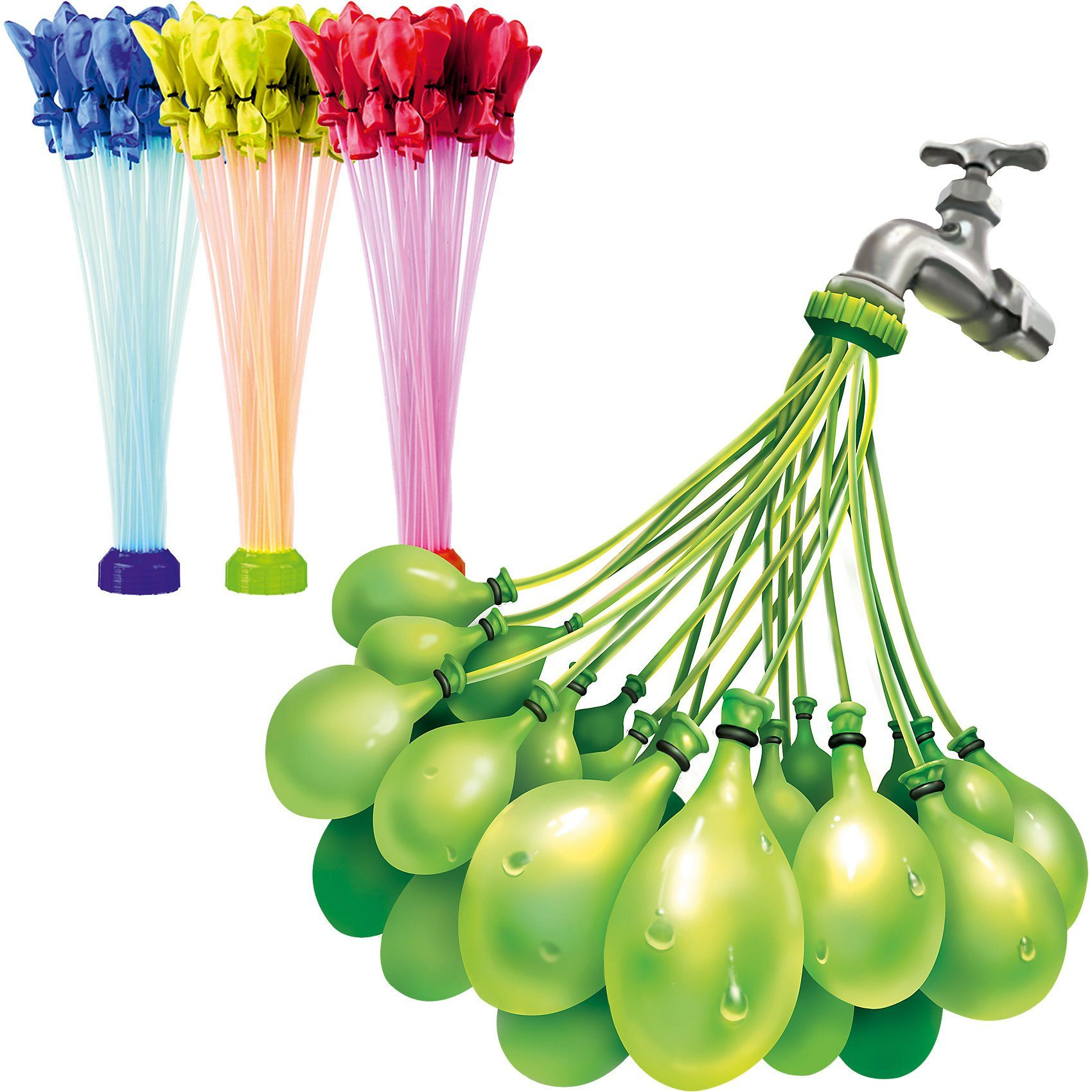 Splash Toys Wasserbomben BunchOBalloons 8er Vorteilspack für über 265 Wa