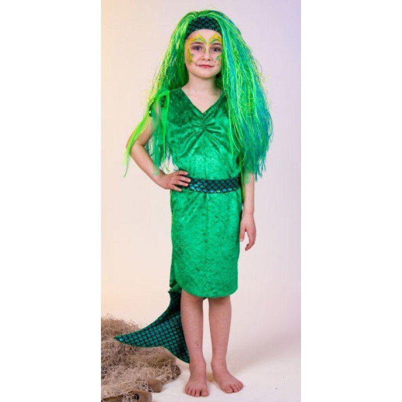 Mini Meerjungfrau Nixe Kinderkostüm - 116/128