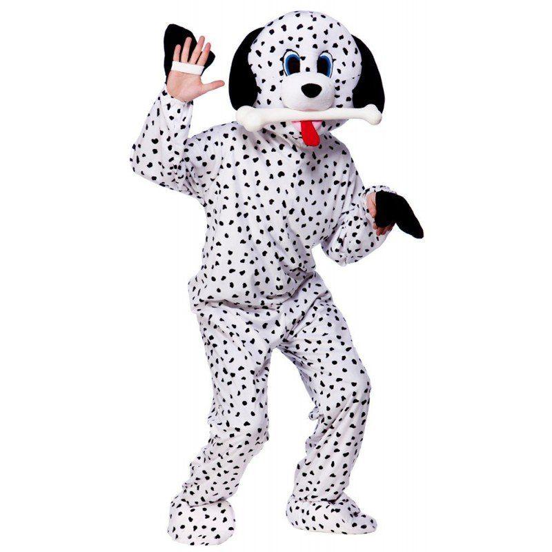 Dalmatiner Maskottchen Kost - Einheitsgröße (M-XL)