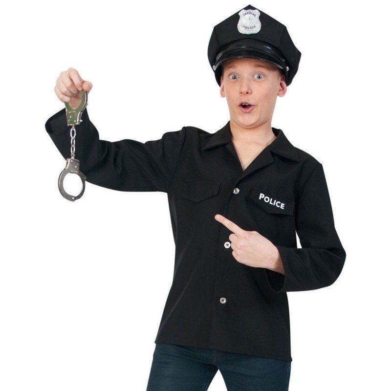 Police Officer Kostüm für Teenager
